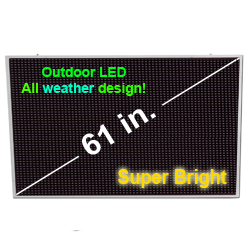 61  inch  USB All Weather digital sign
